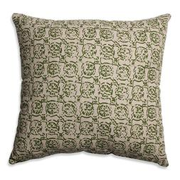 Pillow Perfect Castille Olive Throw Pillow, 16.5""