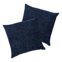 """Chenille Decorative Throw Pillow, Comfortable, 18"""" x 18"""", Na"""