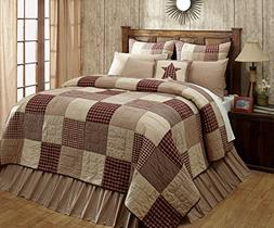 cheston patchwork block luxury king