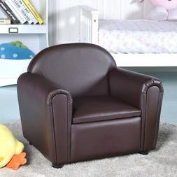 Children Sofa Armrest Chair with Storage Box For Kids Room M