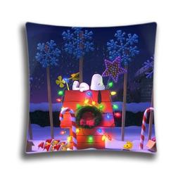 HomePop Christmas Pillow Cover, Christmas The Peanuts Christ
