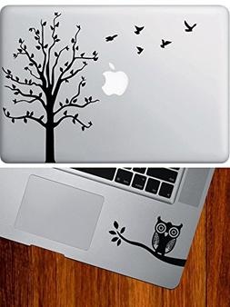 COMBO PACK - Tree with Flying Birds - Macbook Laptop Vinyl D