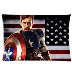 Cool Hero Holding The Shield Custom Pillow case Pillowcover