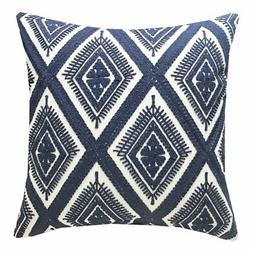 SLOW COW Cotton Embroidery Cushion Cover Decorative Throw Pi
