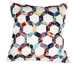 A1 Home Collections 100 Percent Cotton Square Hexagon Honeyc