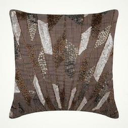 couch throw pillow silk decorative 22 x22