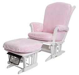 Luxe Basics Cover Me Glider Chair Cover , Pink