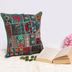 Cover Throw Indian Cushion Pillow Case Pillows Sofa Ethnic W