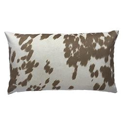 Chloe & Olive Cow Cow Abunga Cafe Latte Collection Faux Fur