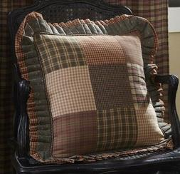 crosswoods patchwork pillow