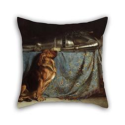 The Oil Painting Briton Rivi???re - Requiescat Throw Pillow