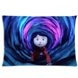 Custom Coraline and the Secret Door Pattern 03 Pillowcase Cu