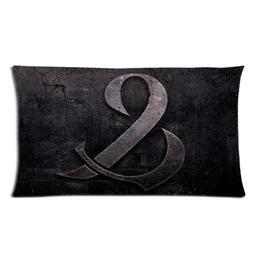 Custom Cotton & Polyester Soft Rectangle Pillow Case Cover 2