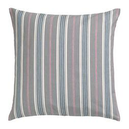 """Ikea Daggvide Striped 20"""" x 20"""" Cushion Cover, Gray Brown Re"""