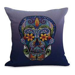 Day Of Dead sugar skull cushion cover pillow cases