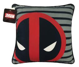 Marvel Deadpool Throw Pillow Black/Red