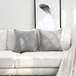 Kevin Textile Decor Lined Linen Throw Pillow Cases Handmade