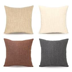 Acanva Decorative Accent Throw Pillow Cushion, with Pillowca