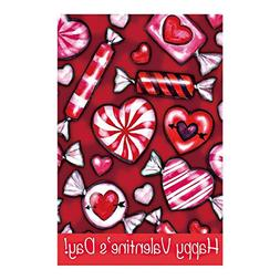 Decorative Custom Flag Happy Valentine'S Day-Love Candy Outd