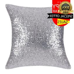 PONY DANCE Throw Pillow Cover - Bling Sequin Glitter Sequins