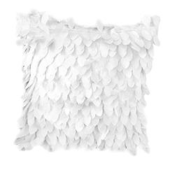 Fallen Leaves Feather Couch Cushion Cover Home Sofa Throw Pi