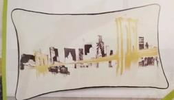 "Decorative Throw Pillow Cover 12"" x 20"" Brooklyn Bridge New"