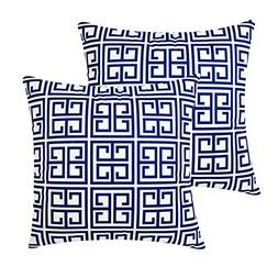 Top Finel Decorative Throw Pillow Covers-Soft Microfiber Out