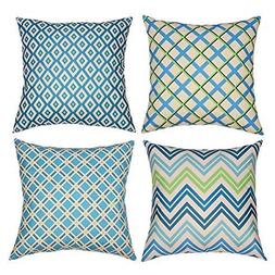 Tedars Decorative Throw Pillow Covers, Pillow Covers 18x18 I