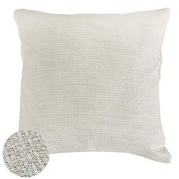 Deconovo Decorative Woven Pillowcase Faux Linen Pillow Cover