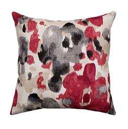 Pillow Cover Decorative Pillow, Red Pillow, Gray Pillow, Cre