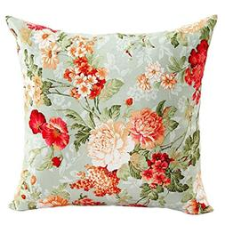 DEESEE Beautiful Flowers Sofa Bed Home Decor Pillow Case Cus