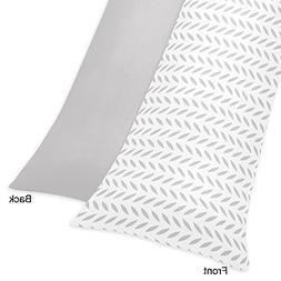 Sweet Jojo Designs Full Length Double Zippered Body Pillow C