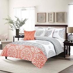 Sweet Home Collection 5 Piece Down Alternative Decorative Fa