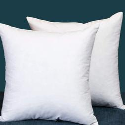Down And Feather Square 18x18 Inch Throw Pillow Insert Set O
