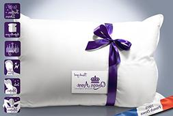 The Duchess - Queen Anne Pillow's Luxury French Feather &