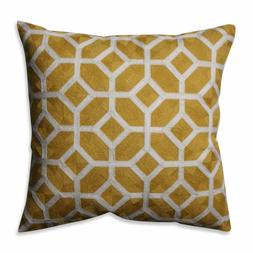 Pillow Perfect Eight Citron 16.5-inch Throw Pillow box 4