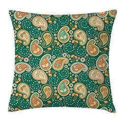 Ethnic Decor Throw Pillow Cushion Cover by Ambesonne, Indian
