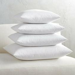 Euro Square Pillow Insert FEATHER / DOWN - ALL SIZES!! Made