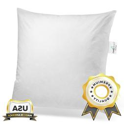 ComfyDown - Euro Square Pillow Insert FEATHER / DOWN  Sham S