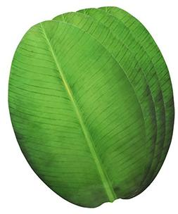 Exquisite Laminated Paper Sheets Banana Leaf Shape Table Pla