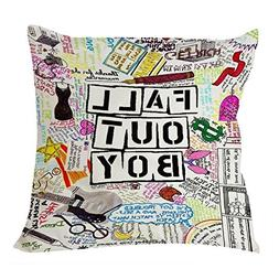 Fall Out Boy Fun Art Quotes7 Pillow Case