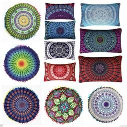 Fashion Indian Mandala Floor Pillows Bohemian Cushion Pillow