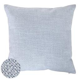 Deconovo Faux Linen Look Hand Made Pillow Case Cushion Cover