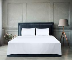 Flat Sheet Soft Brushed Microfiber Breathable In Wholesale L