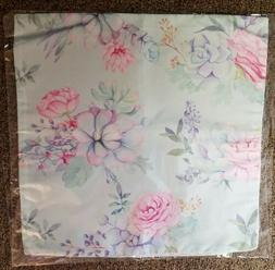 """FLORAL - Throw Pillow Cover Case - #44 Flowers 17""""x17"""" Bedro"""