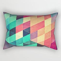 The Geometry Cushion Cases Of 20 X 26 Inches / 50 By 65 Cm D