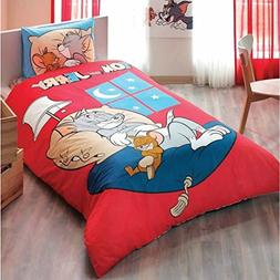 Tom & Jerry Good Night 3 Pcs Twin / Single Size %100 Cotton