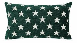 Green Chenille Soft Throw PILLOW COVER Home Decor Sofa Couch