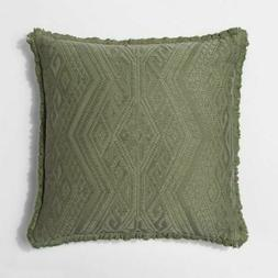 Oversize Square Throw Pillow - Green
