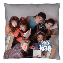 Saved By The Bell Group Decorative Throw Pillow Bed Couch